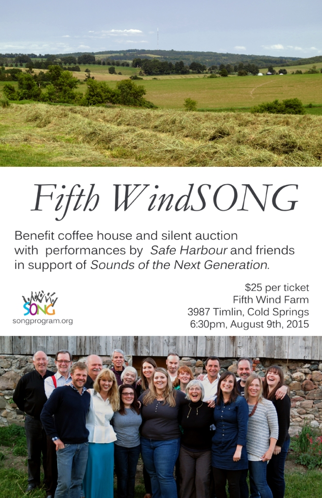 Tickets on sale now at Ten Thousand Villages Cobourg