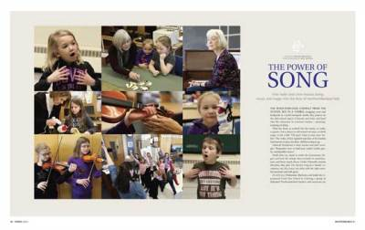 watershed front page spread Spring 2016