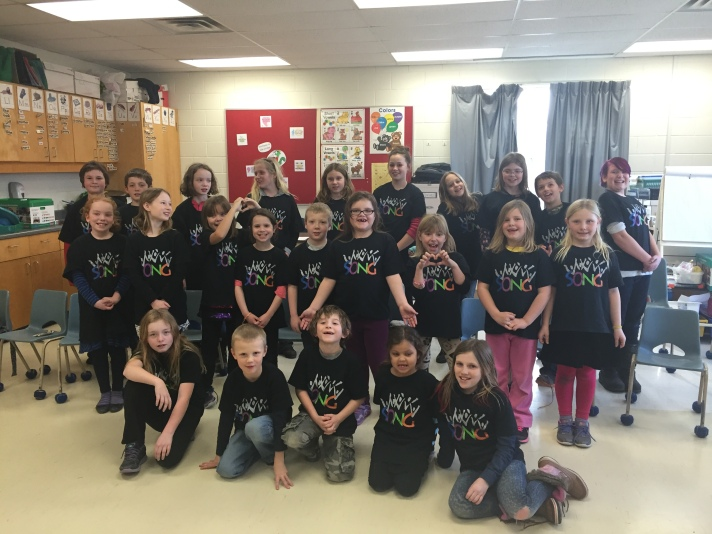 Port Hope SONGsters Feb 2016