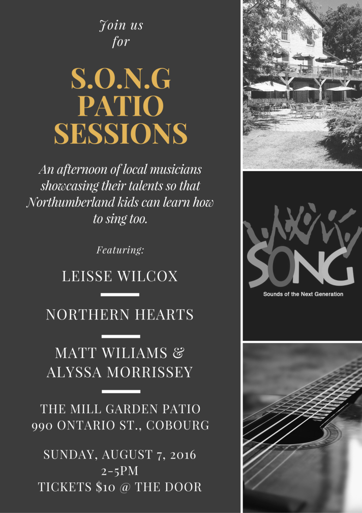 SONG Patio Sessions